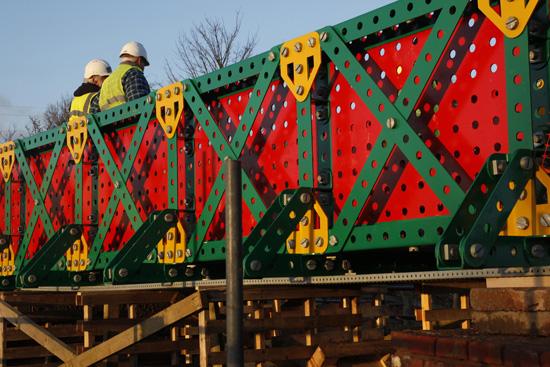 Meccano Bridge, Bolton