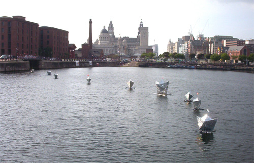 Glitterships, Liverpool